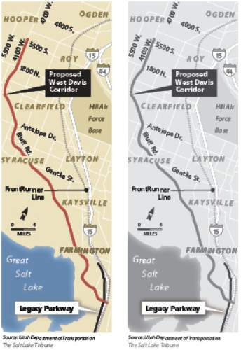 West Davis freeway alternative explored Creation of a series of connected boulevards and expanded bus rapid transit are being explored as an alternative to building the West Davis Corridor.