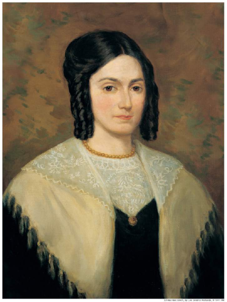 Emma Smith, Joseph Smith's first wife and the love of the Mormon founder's life.