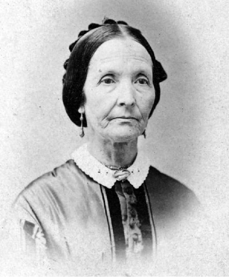 Eliza R. Snow, who was a plural wife to Joseph Smith and Brigham Young.