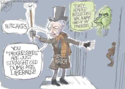 Pat Bagley cartoon for Nov. 16, 2014.