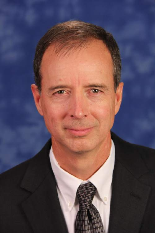 Charles White, a finalist for Weber State University president.