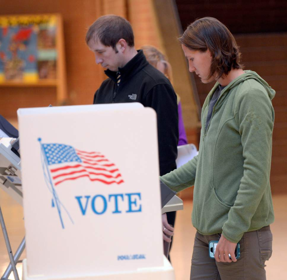 Al Hartmann  |  Tribune file photo The Utah Legislature is preparing to make decisions about new-generation voting machines because the expected life of the now-familiar touch-screen machines is nearing an end.