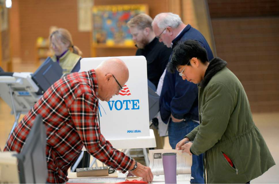 Al Hartmann  |  Tribune file photo Under a new law effecting the next general election, in 2016, independent voters will be allowed to vote in the Utah Republican Primary. Sen. Scott Jenkins has filed legislation that would keep the primaries closed to anyone but registered Republicans.