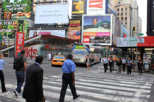 "Courtesy  |  Mormonnewsroom.org  ""I'm a Mormon"" ads on display in New York City."