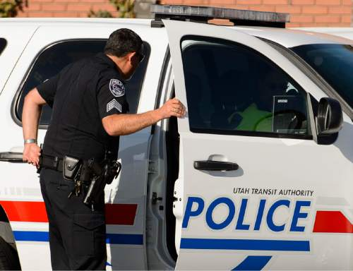 Trent Nelson  |  The Salt Lake Tribune The Utah Transit Authority (UTA) will maintain its own police force after a lengthy review of the value of this use of resources, but there will be some changes in the agency. Salt Lake City, Tuesday December 9, 2014.