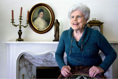 Steve Griffin     Tribune file photo Emma Lou Thayne, Mormon writer and mystic, died this week. She was 90.