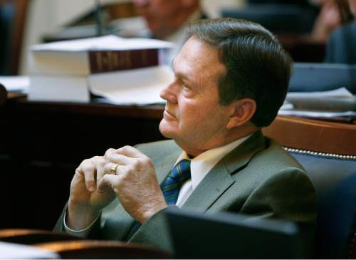 Scott Sommerdorf     Tribune file photo  Sen. Jerry Stevenson, R-Layton, is co-chairman of the Prison Relocation Commission. He believes some communities are taking anti-prison steps that aren't necessary.