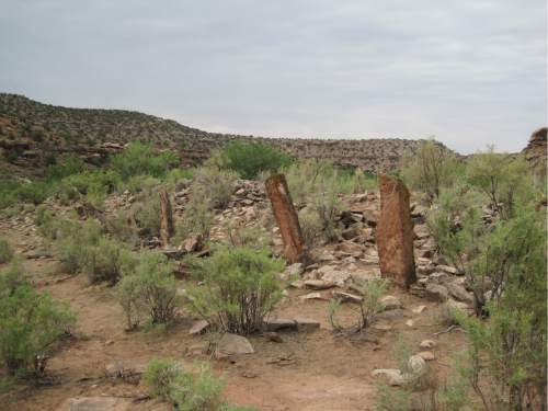Courtesy  |  National Trust for Historic Preservation  Coal Bed Village is one of several archaeological sites in San Juan County's Montezuma Canyon east of Blanding in San Juan County.  The BLM is proposing to lease nearby lands for oil and gas over objections from American Indian tribes and historic preservationists.