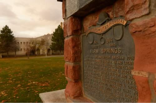 Leah Hogsten  |  The Salt Lake Tribune Warm Springs Park, November 14, 2014.