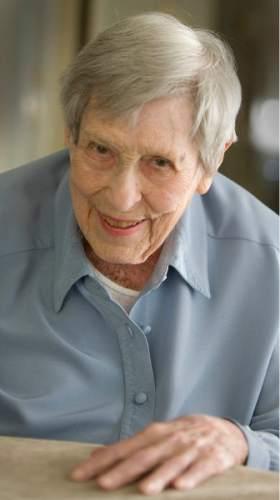 Paul Fraughton | The Salt Lake Tribune Esther Landa is seen in this photo from Tuesday, November 27, 2012.