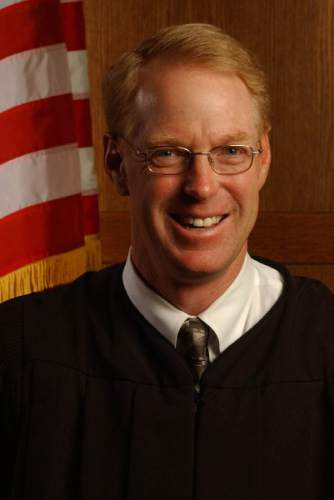 U.S. District Judge Paul Cassell.    Photo by Francisco Kjolseth/The Salt Lake Tribune 9-23-2005.
