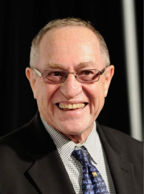 "Attorney Alan Dershowitz attends the world premiere of ""Knife Fight"" during the 2012 Tribeca Film Festival on Wednesday, April 25, 2012 in New York. (AP Photo/Evan Agostini)"