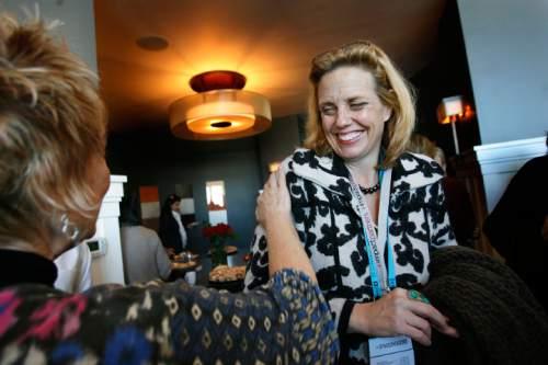 SCOTT SOMMERDORF  l  The Salt Lake Tribune Geralyn Dreyfous, pictured at a past Sundance Film Festival.