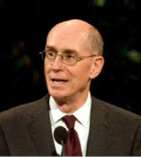 Kim Raff | The Salt Lake Tribune First Counselor Henry B. Eyring is unaffiliated with a political party.