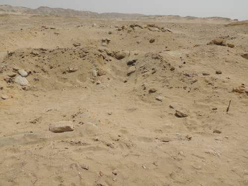 photo courtesy BYU  Site of the Fag el-Gamous cemetery in Egypt.