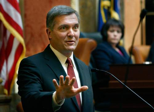 Scott Sommerdorf     Tribune file photo U.S. Rep. Jim Matheson, D-Utah, isn't seeking an eighth term in the Utah House. The only Utah Democrat in Congress for nearly 20 years, Matheson stuck to a moderate, bipartisan playbook that others see as the only glimmer of hope for Democrats in the state going forward.