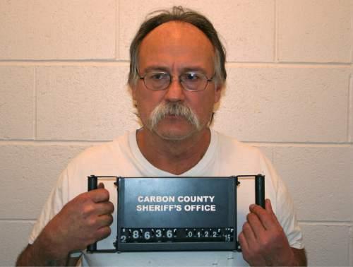 Sam Gene Harris (Carbon County jail photo)