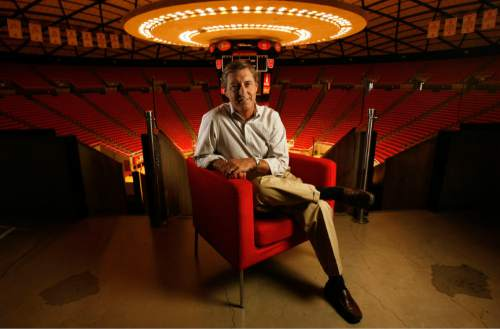 Chris Hill, University of Utah athletic director is part of our list of Top 25 most influential people. Photo by Francisco Kjolseth/The Salt Lake Tribune 7/1/2008