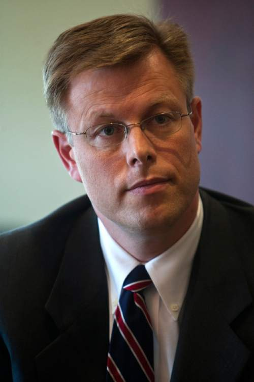 Photo by Chris Detrick  |  The Salt Lake Tribune  Deseret News CEO Clark Gilbert is photographed Tuesday August 31, 2010.
