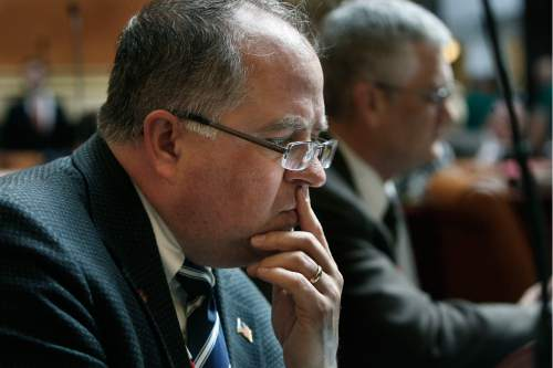 Scott Sommerdorf   |  Tribune file photo Rep. David Lifferth, R-Eagle Mountain, said Gov. Gary Herbert told him he favors putting the new prison in Salt Lake City, west of the airport. Herbert's staff says it was a misunderstanding.