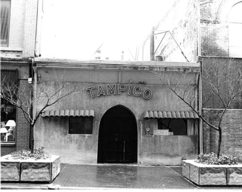 Photo courtesy Gregory M. Walz  The Tampico restaurant  in Salt Lake City was named a National Historic Site in December 1982.