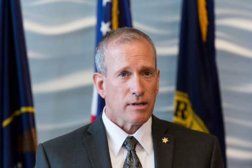 Trent Nelson     Tribune file photo Public Safety Commissioner Keith Squires says the huge increase in cyber attacks is believed to be a result of the location of the NSA computer center in Bluffdale.