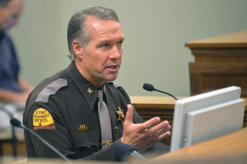 Chris Detrick     Tribune file photo Utah Highway Patrol Col. Daniel Fuhr says he has personal experience of having his identity stolen by cyber thieves. He said the experience was a nightmare.