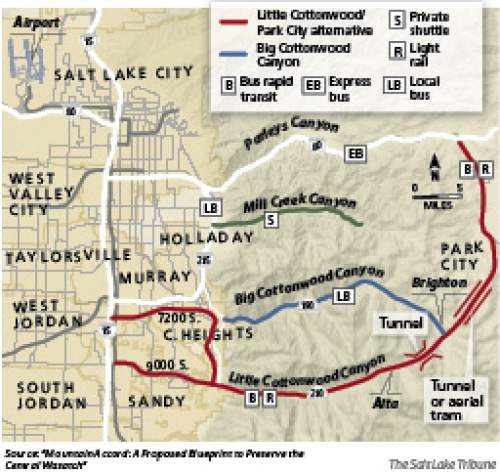 Planners unveil blueprint for future of wasatch canyons the salt the mountain accord process has developed a blueprint up now for public input that malvernweather Choice Image