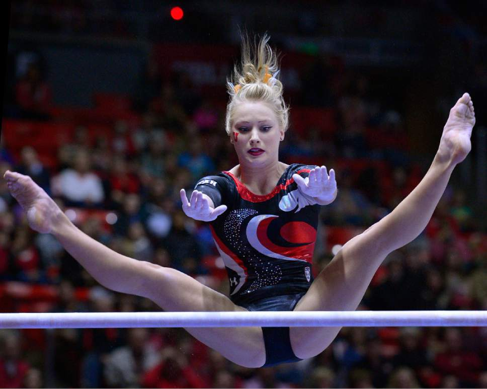 utah gymnastics  red rocks dominate sun devils