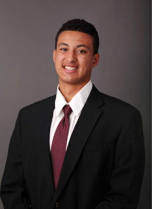 Kyle Kuzma, University of Utah Men's Basketball Sept. 17, 2014 in Salt Lake City, UT. (Photo / Steve C. Wilson / University of Utah)