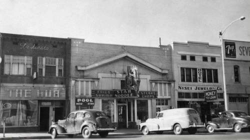 Courtesy photo |  The Star Noodle dragon sign in Ogden in the early 1950s.