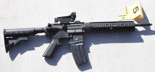 (Provo Police Department photo) Police say Cody Evans pointed this Airsoft rifle at officers who fatally shot him Sunday, Feb. 15, 2015.