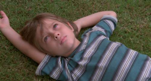 """In Richard Linklater's new movie """"Boyhood,"""" Ellar Coltrane plays Mason, a boy who literally grows up before the viewers' eyes. Courtesy Sundance Institute"""