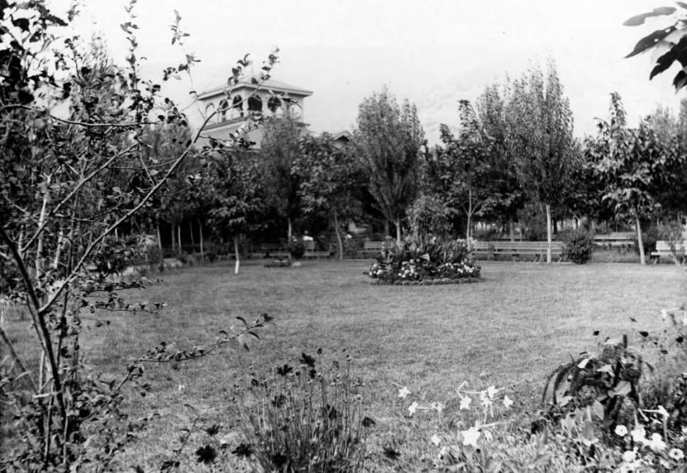 Courtesy  |  Utah State Historical Society  Lagoon Amusement Park in Farmington. Date unknown.