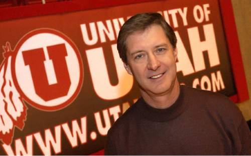 - University of Utah's athletic director Chris Hill. Ryan Galbraith/photograph  03.22.05