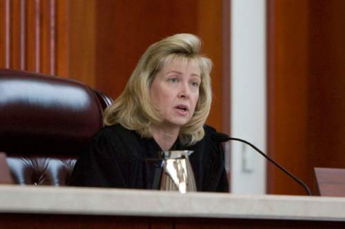 Steve Griffin  |  Tribune file photo   Utah Supreme Court Justice Jill N. Parrish has been renominated to the federal district bench by President Barack Obama. Sen. Orrin Hatch believes she will be confirmed in quick order.