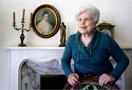 Tribune file photo   Emma Lou Thayne, Mormon writer and mystic,  in her Salt Lake City home on  May 5, 2011. Thayne died in December 2014.