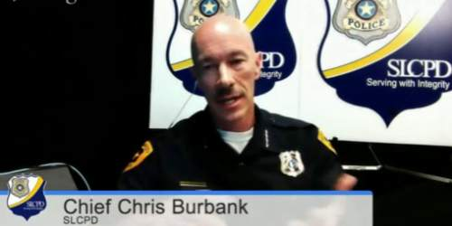 Salt Lake City Police Chief Chris Burbank was a guest on Trib Talk on Wednesday, May 7, 2014.