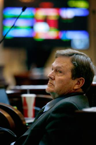 Scott Sommerdorf  | Tribune file photo  State Sen. Jerry Stevenson, R-Layton, is supporting HB454 that will require a legislative vote on where to move the prison, while the Prison Relocation Commission would get to make a recommendation.
