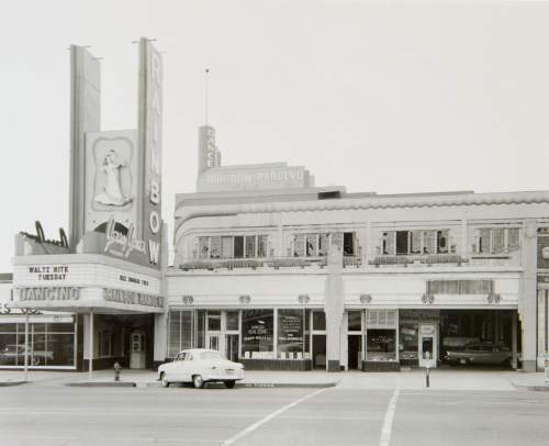 (Photo courtesy Utah State Historical Society) The Rainbow Randevu, 464 S. Main, as seen in April 1956. The dance hall was renamed the Terrace Ballroom in 1960. Across five decades, the venue played host to star-studded big bands and rock groups and was for many the place to be seen in Salt Lake City.