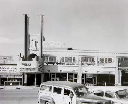 (Photo courtesy Utah State Historical Society) The Rainbow Randevu, 464 S. Main, as seen in October 1957. The dance hall was renamed the Terrace Ballroom in 1960. Across five decades, the venue played host to star-studded big bands and rock groups and was for many the place to be seen in Salt Lake City.