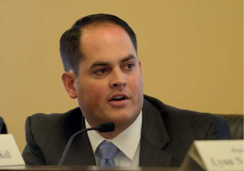 "Rick Egan  | Tribune file photo  Rep. Mike K.McKell, R-Spanish Fork, thinks the fitness pledge of the Utah County GOP is ""silly."""