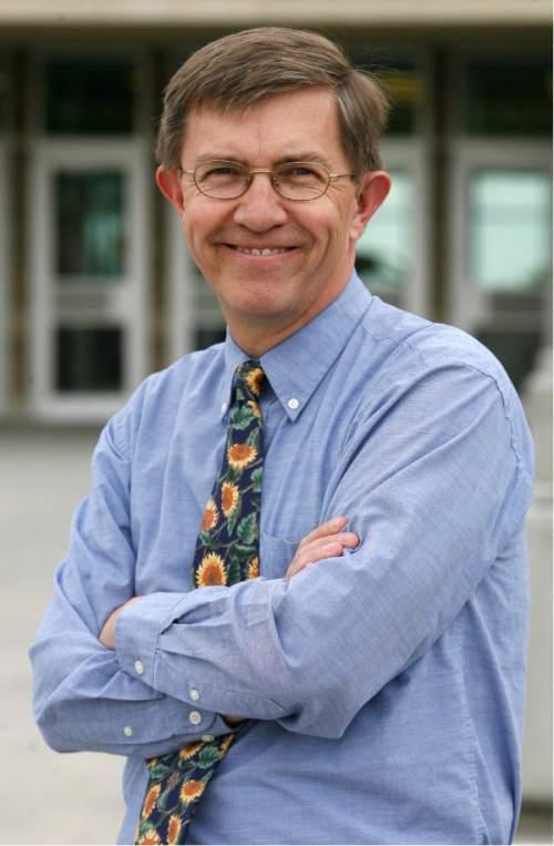 Rick Egan   |  The Salt Lake Tribune   District 25 legislative candidate Joel Briscoe. Wednesday, May 26, 2010.