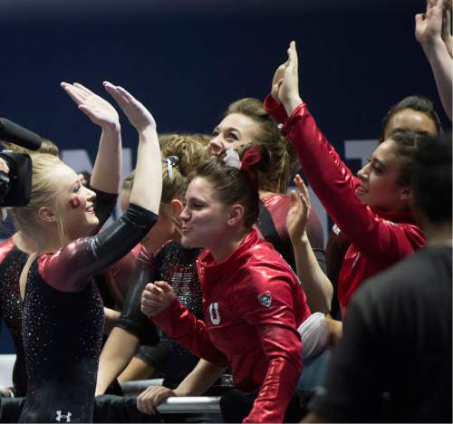 Utah gymnastics: MyKayla Skinner, MaKenna Merrell-Giles