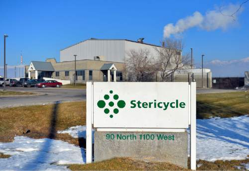Keith Johnson | Tribune file photo  Stericycle, currently located in North Salt Lake, is a hazardous medical waste disposal company. Photographed January 21, 2014.