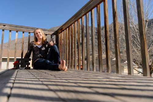 Trent Nelson  |  The Salt Lake Tribune Annabel Jensen, a transgender Mormon woman, was photographed at her home in Springville, Tuesday March 10, 2015.