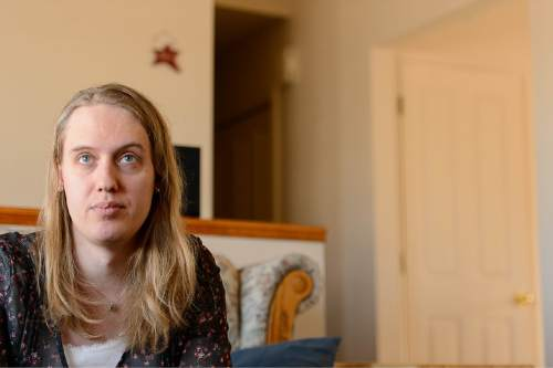 Trent Nelson  |  The Salt Lake Tribune Annabel Jensenn, a transgender Mormon woman, was photographed at her home in Springville, Tuesday March 10, 2015.