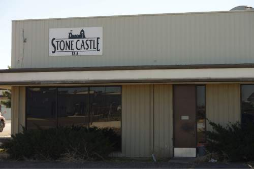 Rick Egan  |  The Salt Lake Tribune  The Stone Castle warehouse in Clearfield is still full of old television sets and computers, Friday, March 20, 2015.