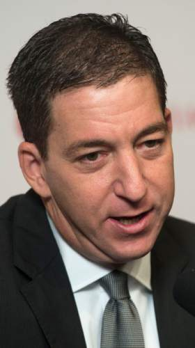 Steve Griffin     The Salt Lake Tribune  Glenn Greenwald, best known for his series in The Guardian detailing classified information about global surveillance programs based on top-secret documents provided by Edward Snowden, talks to media members at the Utah Museum of Fine Arts Dumke Auditorium in Salt Lake City, Tuesday, April 7, 2015.