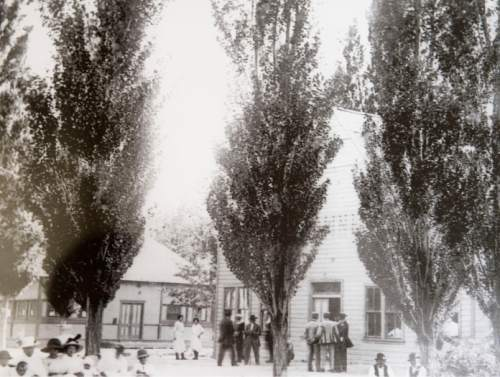 Courtesy  | Lehi city  Historic photos of Saratoga resort in Saratoga Springs, Utah.